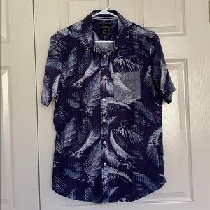 NWOT Forever 21 Men tropical shirt size large